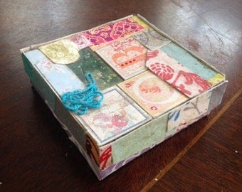 Pastel Collage Box