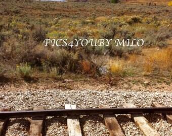 train tracks Utah
