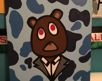 Kanye Bear Painting