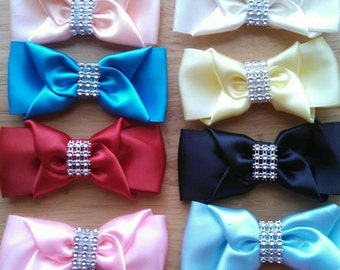 """12 Pieces Wholesale Hair Bow 3"""" inches"""