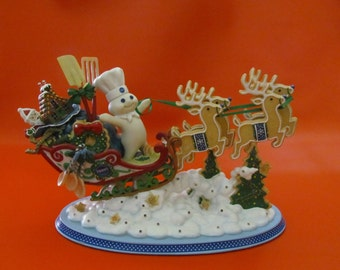 Doughboy Christmas Sleigh