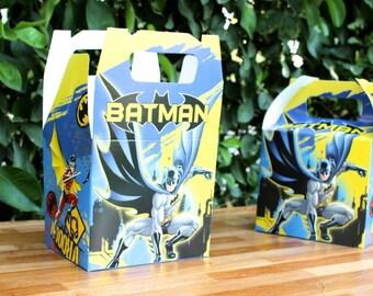Batman Party Treat Box - favor box