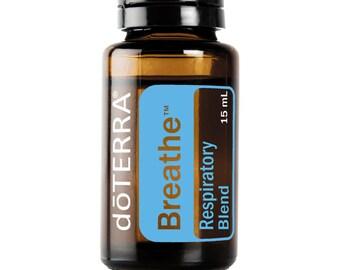 Aromatherapy Oil doTERRA Breathe Essential Oil Respiratory Blend 15ml sealed bottle