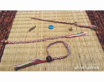 Colorful Cotton Bracelet