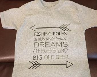 Boys custom made t shirt
