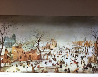 WInterscene by H. Avercamp.