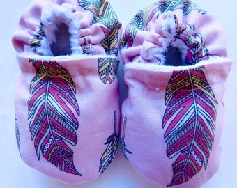 Feather moccs