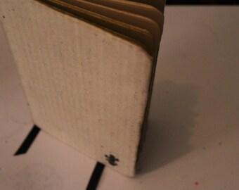 Handmade Moleskine-Style notebook