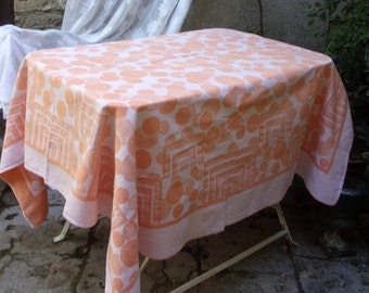 A tablecloth fabric, old Damascus, Deco