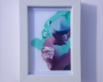 Original abstract small painting