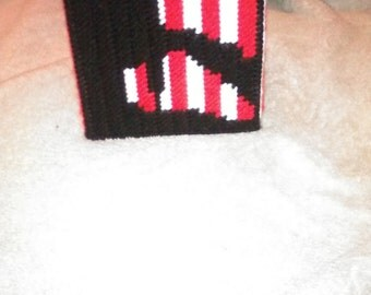Patriotic Tissue Box Cover