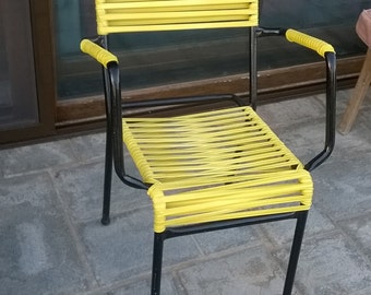 Terrace handmade metal chairs
