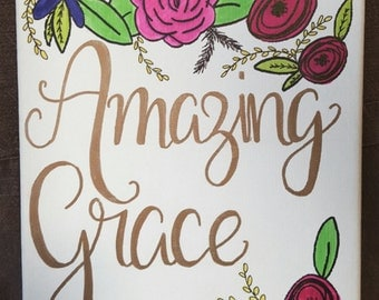 Amazing Grace Canvas