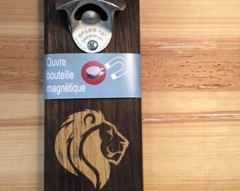 Magnetic wall bottle opener Style: felines