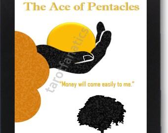 Ace of Pentacles - Tarot Wall