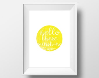 Hello there sunshine. An A3 digital print with a sunny outlook.