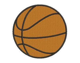 12 size Basketball Embroidery Design - Instant Download - no applique -