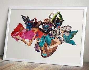 Karma Chameleons - Fine Art Print