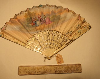 Antique wedding fan