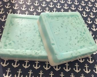 Tropical temptation mineral & Dead Sea salt goats milk soap