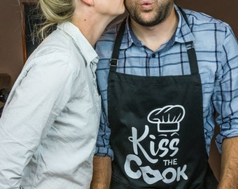 ApronMen Kiss the Cook Apron