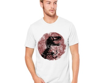 jurassic park vintage  Men's T-shirt