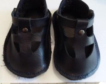 Blue summer shoes for Zisa Doll