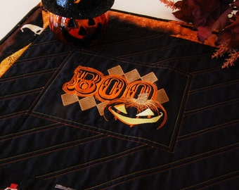 "Halloween ""Boo"" Table Runner"