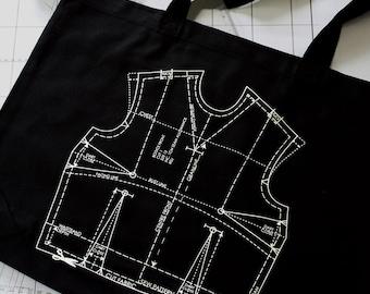 Eco Pattern Bodice Bag
