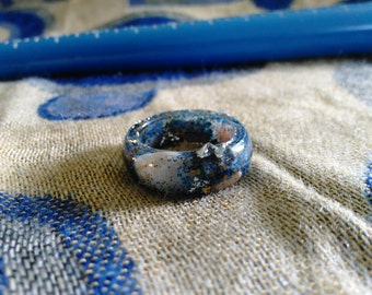 extra dimensional seashell ring