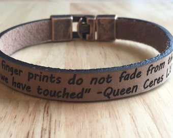 FREE SHIPPING-Personalized Bracelet,Men's Leather Bracelet,Engraved Leather Bracelet,Custom Men Bracelet,Personalized Leather Bracelet