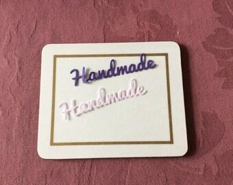 Die cuts handmade