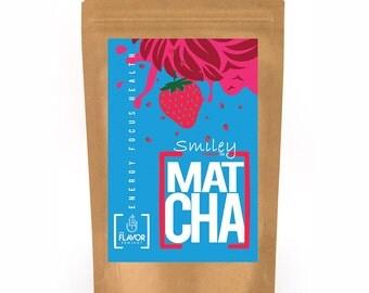 Strawberry Matcha Green Tea | 2 oz