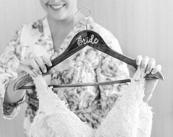 Wooden Hanger - Wedding