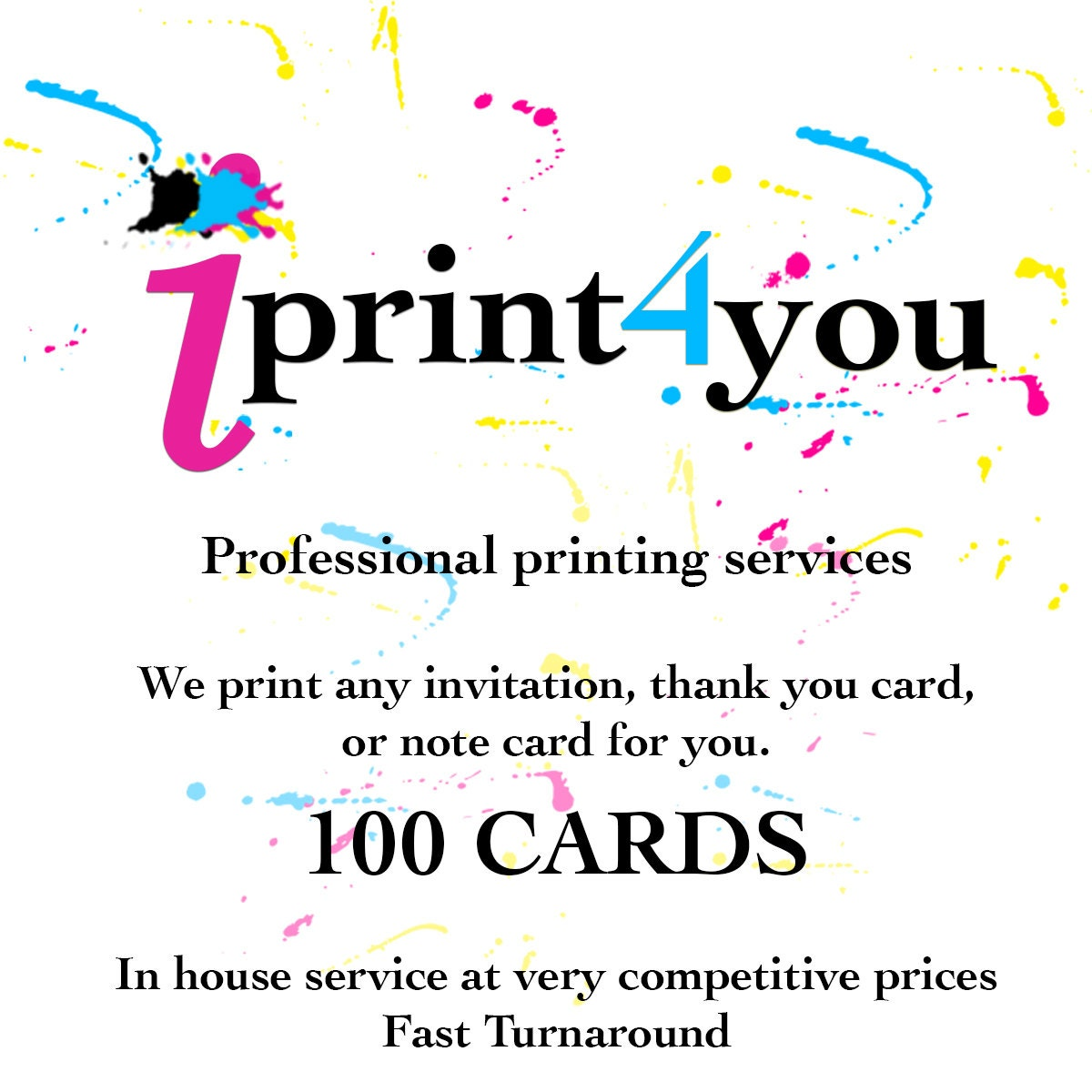 printing services professional printing services 5x7 invitations