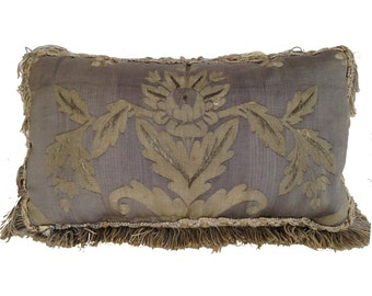Elegant 18th Century Aubusson Pillow