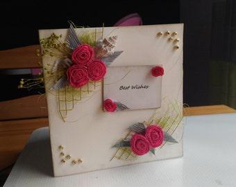handmade beautiful card