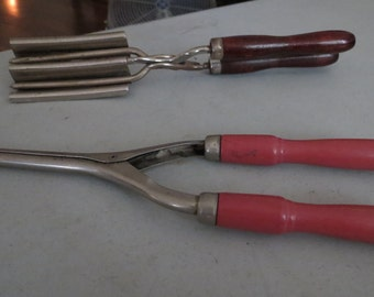 Vintage Curling Irons