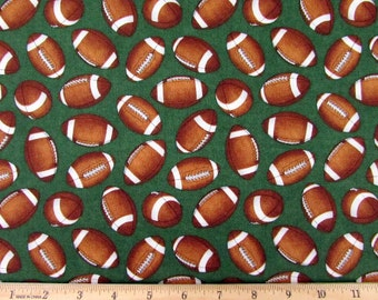 The Whole 9 Yards Football Fabric From RJR