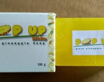 POP UP White Gluta Pineapple Soap