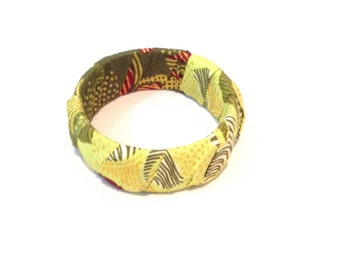 Green Leaf Printed Bracelet
