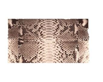 Python Clutch, Gray Python Clutch, Snakeskin Clutch, Gray Leather Clutch, Gray Evening Bag, Gray Leather Bag, Snakeskin Purse, Small Handbag