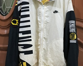 Rare!!! Vintage 90s Nike Challenge Court Windbreaker Track Top Jacket Agassi Vintage Tennis Very RARE!