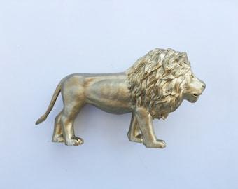 Gold Lion Centerpiece