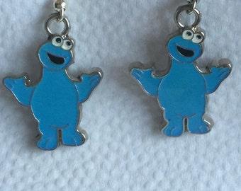 Cookie Monster Earrings