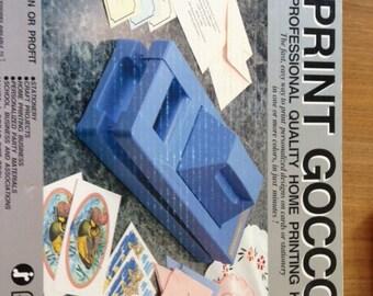 Risso Print Gocco B6HM Kit - Used
