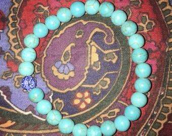 Lightning blue bracelet
