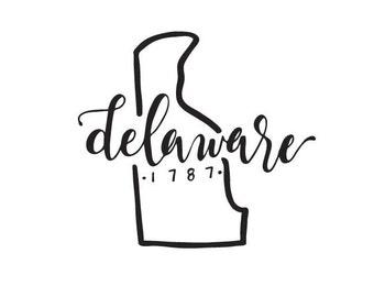 Delaware - printable download
