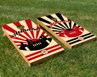 Atlanta Falcons Cornhole Board Set