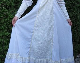ON SALE Incredible 70s Gunne Sax Prairie Renaissance Maxi Dress!!
